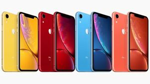 NEW APPLE IPHONE XR  64GB | 128GB  A1984 4G LTE UNLOCKED SMARTPHONE
