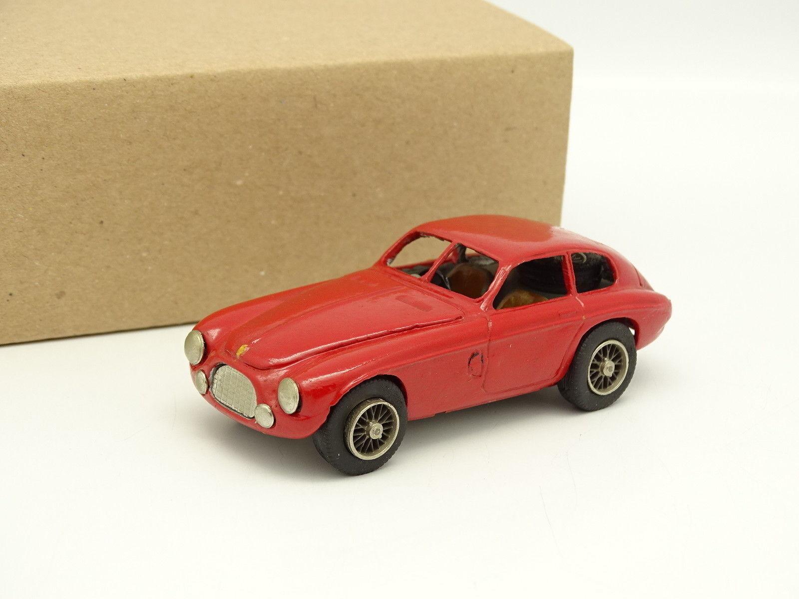 Set Metal Built 1 43 - Ferrari 166 mm Touring Red