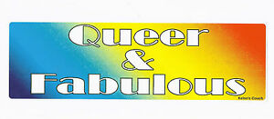 Pride Queer Funny and relevant LGBTQ Kelso/'s Couch Bumper Sticker LGBTQA