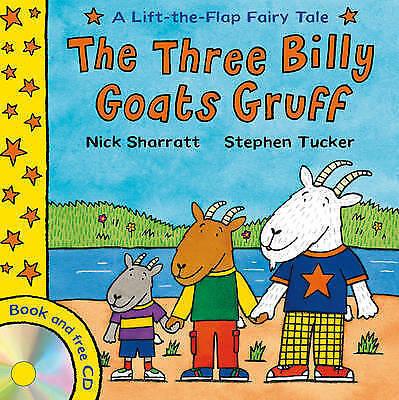"""VERY GOOD"" The Three Billy Goats Gruff (Lift-The-Flap Fairy Tales), Tucker, Ste"