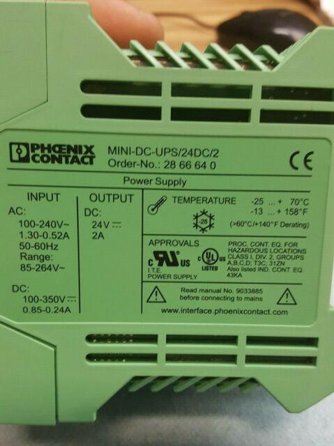 Phoenix Contact - DIN Rail Power Supplies 2866640