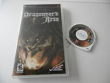 DRAGONEERS'S ARIA RARE ORIGINAL RPG SONY PSP GAME PAL