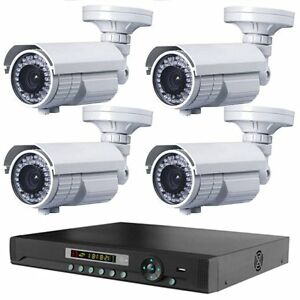 4-LONG-DISTANCE-WIRELESS-2-500FT-OUTDOOR-NIGHTVISION-1200TVL-CAMERA-SYSTEM