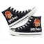 NOUVEAU Harry Potter Toile Chaussures High Top Plate Unisexe Amoureux Causal Shoes
