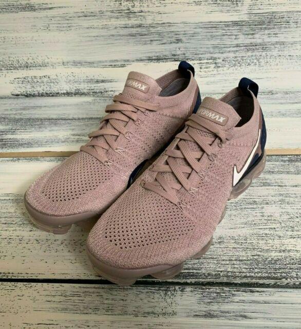 promo code 32624 18a3d Nike Air Vapormax Flyknit 2 Diffused Taupe Phantom Khaki Pink Navy Men Size  11