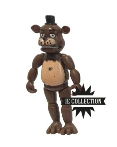 Five Nights at Freddy/'s Action Figure personaggi statuette Foxy Chica Bonnie oro