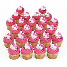 Hello Kitty 24ct Birthday Cupcake Rings Bag Fillers Party Supplies Favors Prizes