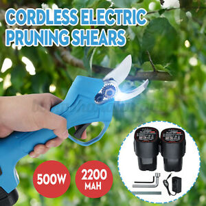 16-8V-500W-Cordless-Rechargeable-Pruning-Shears-Secateur-Branch-Cutter-Scissor