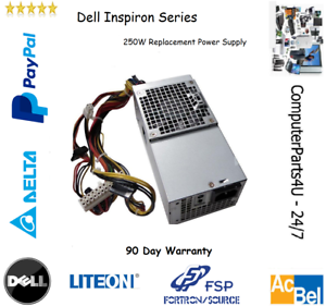 TFX0250AWWA Dell Inspiron 530 Slimline SFF 250W Replacement Power Supply Unit