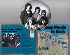 CD PICTURE 20T INCLUS BONUS DEEP PURPLE IN ROCK DE 1995