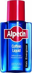Alpecin Coffein Liquid 1 x 200 ml – La lozione quotidiana alla caffeina che p...