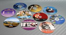 25x Personalized DVD Disc 4.7GB 120min 16x Image Printing Laser Ink Jet Colour