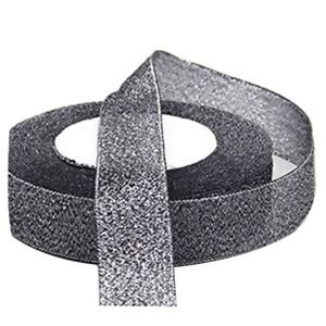 22-Metres-25mm-Double-Sided-Satin-Glitter-Ribbons-Bling-Bows-Reels-Wedding-P1W3