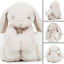 Lapin Teddy Bear avec couverture polaire nouveau-né Nursery Bébé Enfant Pâques