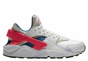 separation shoes 9d0a0 f4ea5 Details about Nike Men's Air Huarache Shoes NEW AUTHENTIC White/Red/Blue  318429-112