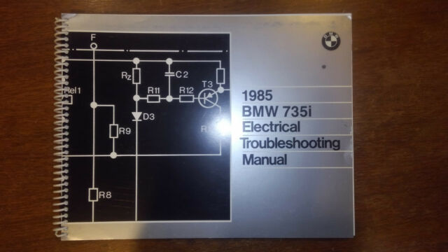 1985 Bmw 735i And L7 Electrical Troubleshooting Manual Wiring Diagram Etm