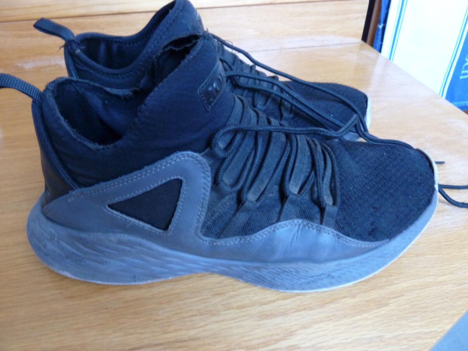 Nike Air Jordan Formula 23 # 881465-021, Gr. 44,5 / cm US 10,5 / 28,5 cm / schwarz Grau 6207e4