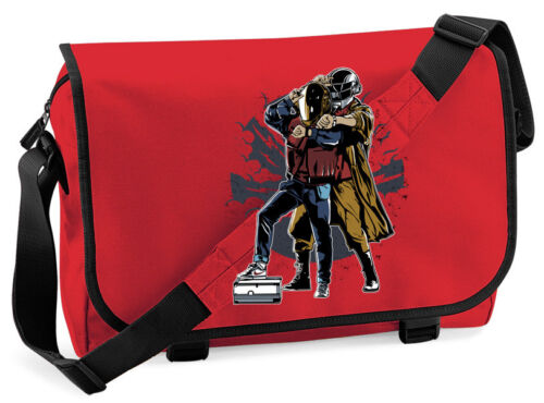 Back To The Future Beat Box Marty Mcfly Messenger Bag