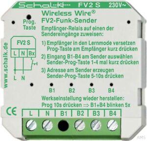 Schalk-Wireless-Transmitter-Up-4-Inputs-FV2-S-230V-AC