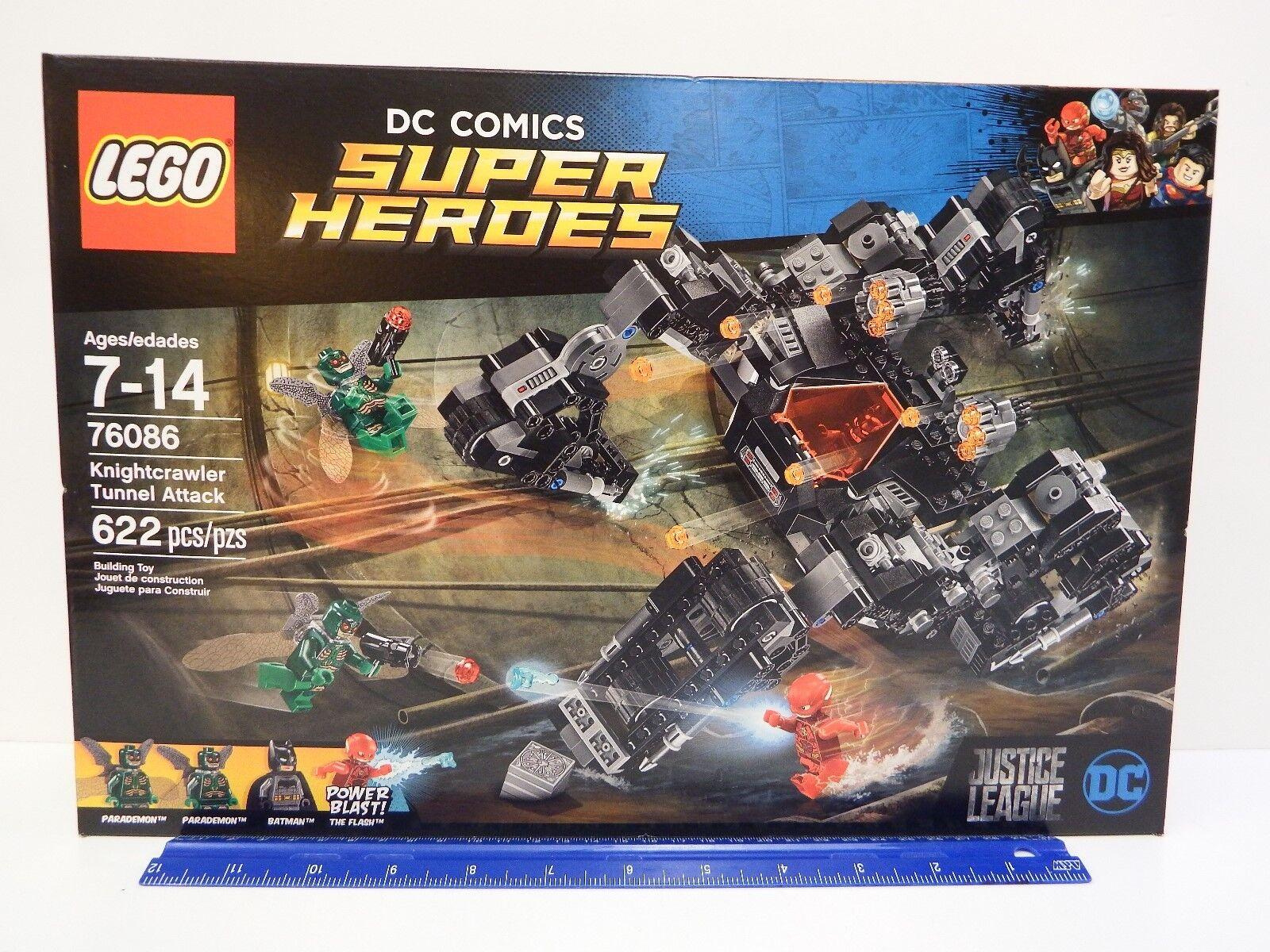 Lego Marvel Super Heroes 76086 knightcrawler túnel de ataque 622 PC Set Edad 7-14Y