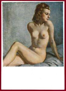 German WW 2 Third Reich Artist Postcard House of German Art München