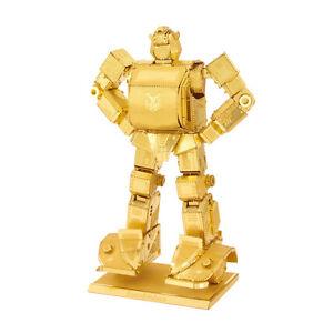 Transformers-Bumblebee-Gold-3D-Metal-Kit-Gold-Metal-Earth-1503