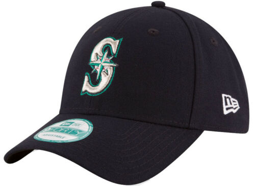 New Era Seattle Mariners The League MLB velcroback 9 Forty Cap 940 Adjustable New