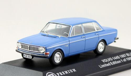 VOLVO 144s BLU 1967 1:43 Triple 9 modello di auto