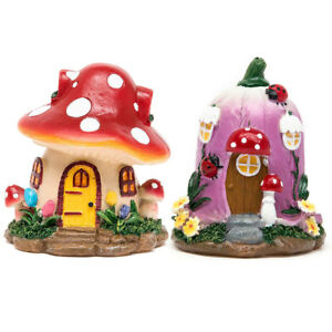 Fairy-House-Mushroom-Flower-Chrismas-Statue-Fantasy-Garden-Miniature-Ornament