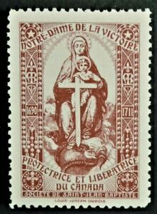 Societe Saint Jean Baptiste NOTRE DAME de la VICTOIRE (GUM) Canada F/VF SSJB