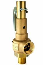 "STEAM BOILER SAFETY PRESSURE RELIEF VALVE 3/4"" ASME 901"