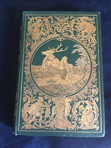 Hiortens-Flugt-By-Christian-Winther-Hardcover-1864-Danish