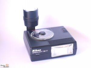 Nikon-Blitz-Speedlght-SB-17-Original-For-SLR-Camera-F3-Ttl-A-Md-M