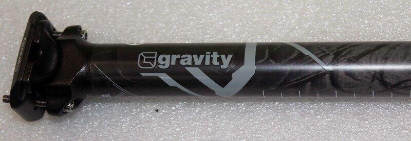 New GRAVITY GRADIENT CARBON 31.6 seat tube  Diameter  31.6MM