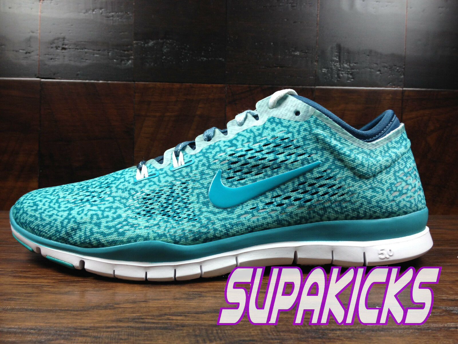 NIKE FREE 5.0 TR FIT 4 femmes (Hyper Turquoise) Crossfit [629832-303]