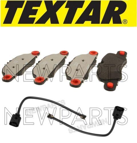 For Porsche 911 Boxster Cayman Front Disc Brake Pad Set w// Sensors