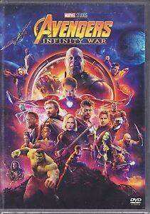 Dvd-Marvel-AVENGERS-INFINITY-WAR-nuovo-2018