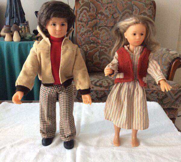 2 PoupÉes Bella Jean Et Elyse VÊtement Dorienne