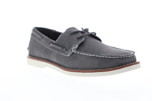 Unlisted-by-Kenneth-Cole-Santon-Boat-JMS8TX002-Mens-Gray-Casual-Boat-Shoes