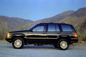 1995 ZJ Jeep Grand Cherokee Service Manual, Wiring Diagram ...