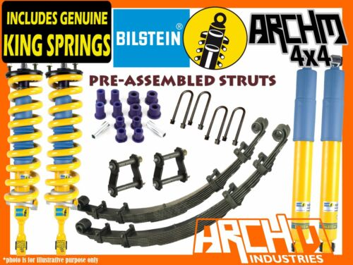 FORD RANGER PX 2011ON ARCHM4X4 BILSTEIN 2INCH40mm F&R SUSPENSION LIFT KIT