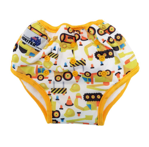 Diggers Bamboo Toilet Training Pants Pocket Waterproof Adjustable Size
