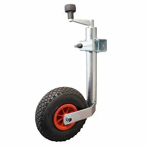 Trailer-Caravan-Corrosion-Resistance-48mm-Pneumatic-Telescopic-Jockey-Wheel-99