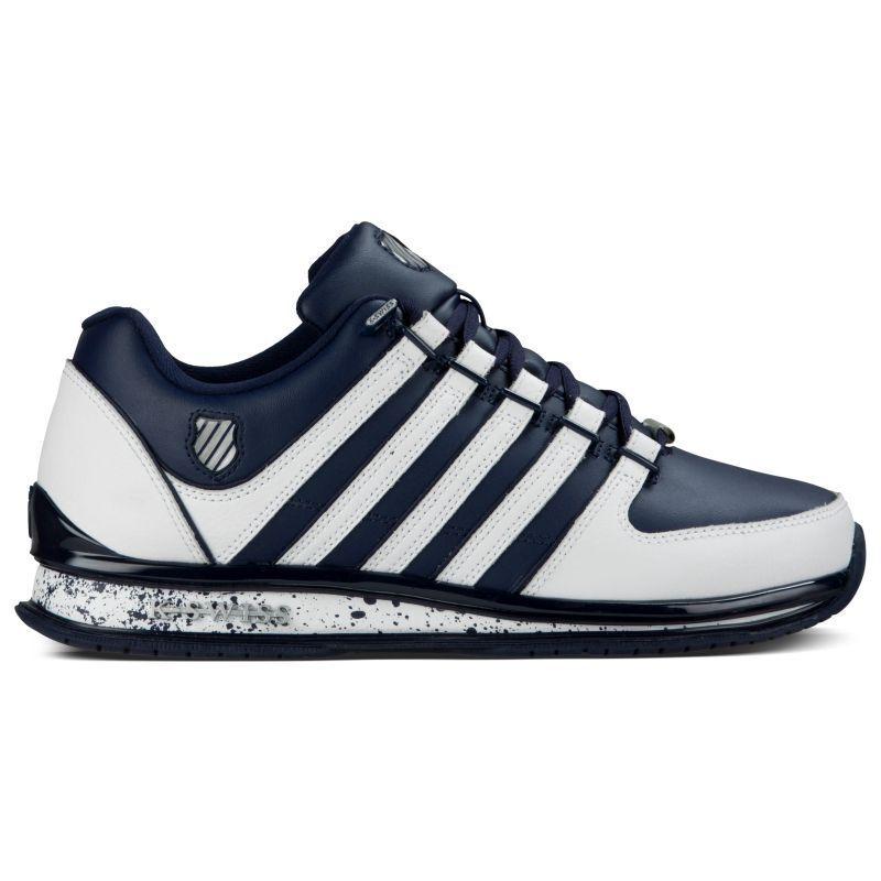 K-Swiss Rinzler SP Speckle Blau Weiß Herren Sneaker Leder Schuhe 05032401 NEU
