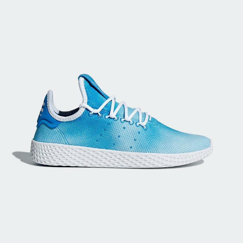 ADIDAS PHARRELL WILLIAMS HU HOLI TENNIS HUMANITY DA9618 BRIGHT blueE CLOUD WHITE