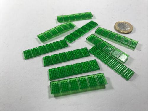 Y712 HO 10stk Wiking Mesureur réplique boissons encadrés transparent vert Bouteilles Boîtes