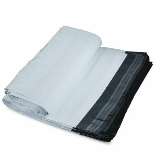"""Premium Strong WHITE Plastic Mailing Poly Postage Bags UK MULTI SIZES /""""NEW/"""""""