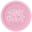 thumbnail 3 - PINK HEARTS Baby Shower Party Range - Girl Tableware Balloons & Decorations