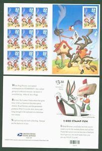 Estados-unidos-2000-Road-Runner-coyote-Comics-diapositivas-hoja-64-n-3287-Ba-3287-B