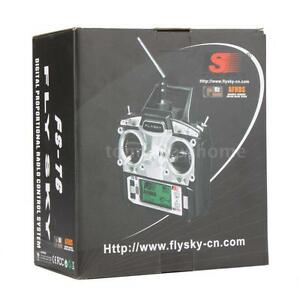FLYSKY FS-T6 Transmitter 2.4G 6CH Mode 2 + Receiver R6-B for RC Plane Car A9G1
